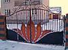 Кованные ворота 17600