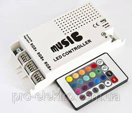 №19 RGB контроллер 9А - Радио 24 кнопки (аудио) 1009322