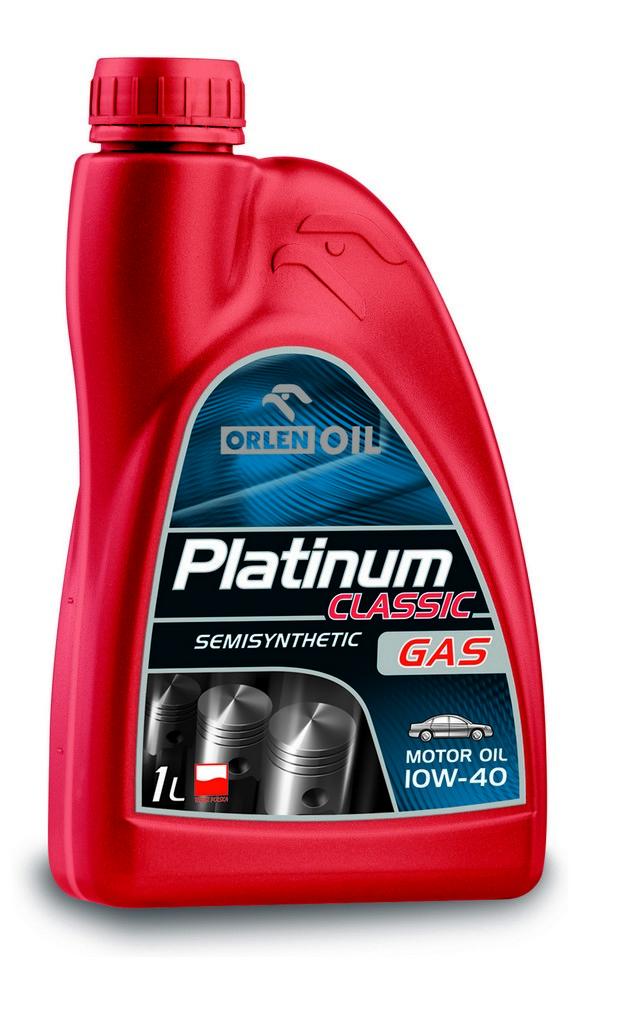 ORLEN Platinum Classic Gas Semisynthetic 10W-40 1л
