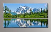 Картина модульная (49,5х89 см.) - Горы, Арт. HAD-003