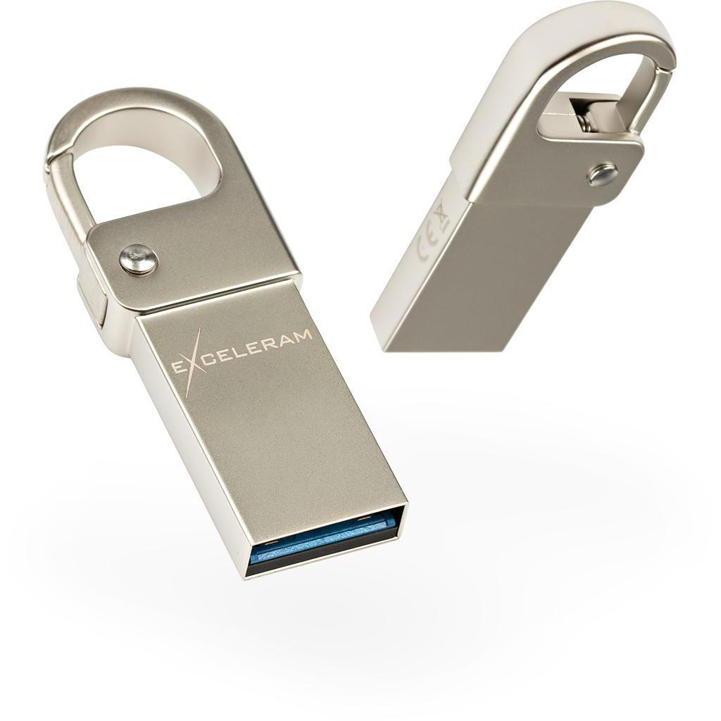 USB флеш накопитель eXceleram 64GB U6M Series Silver USB 3.1 Gen 1 (EXU3U6MS64)