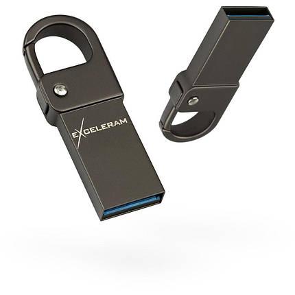 USB флеш накопитель eXceleram 32GB U6M Series Dark USB 3.1 Gen 1 (EXU3U6MD32), фото 2
