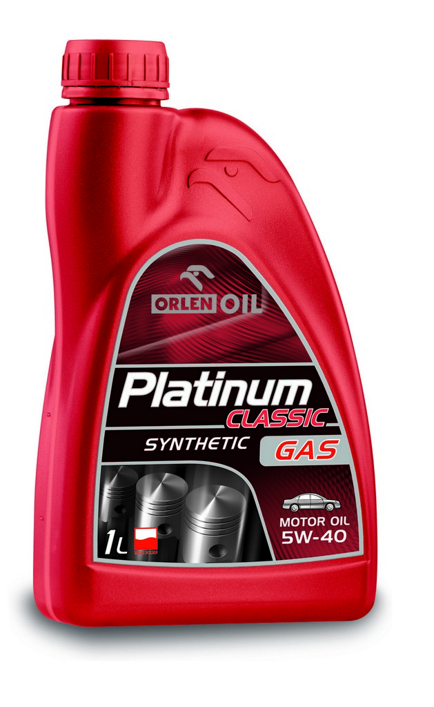 ORLEN Platinum Classic Gas Synthetic 5W-40 1л