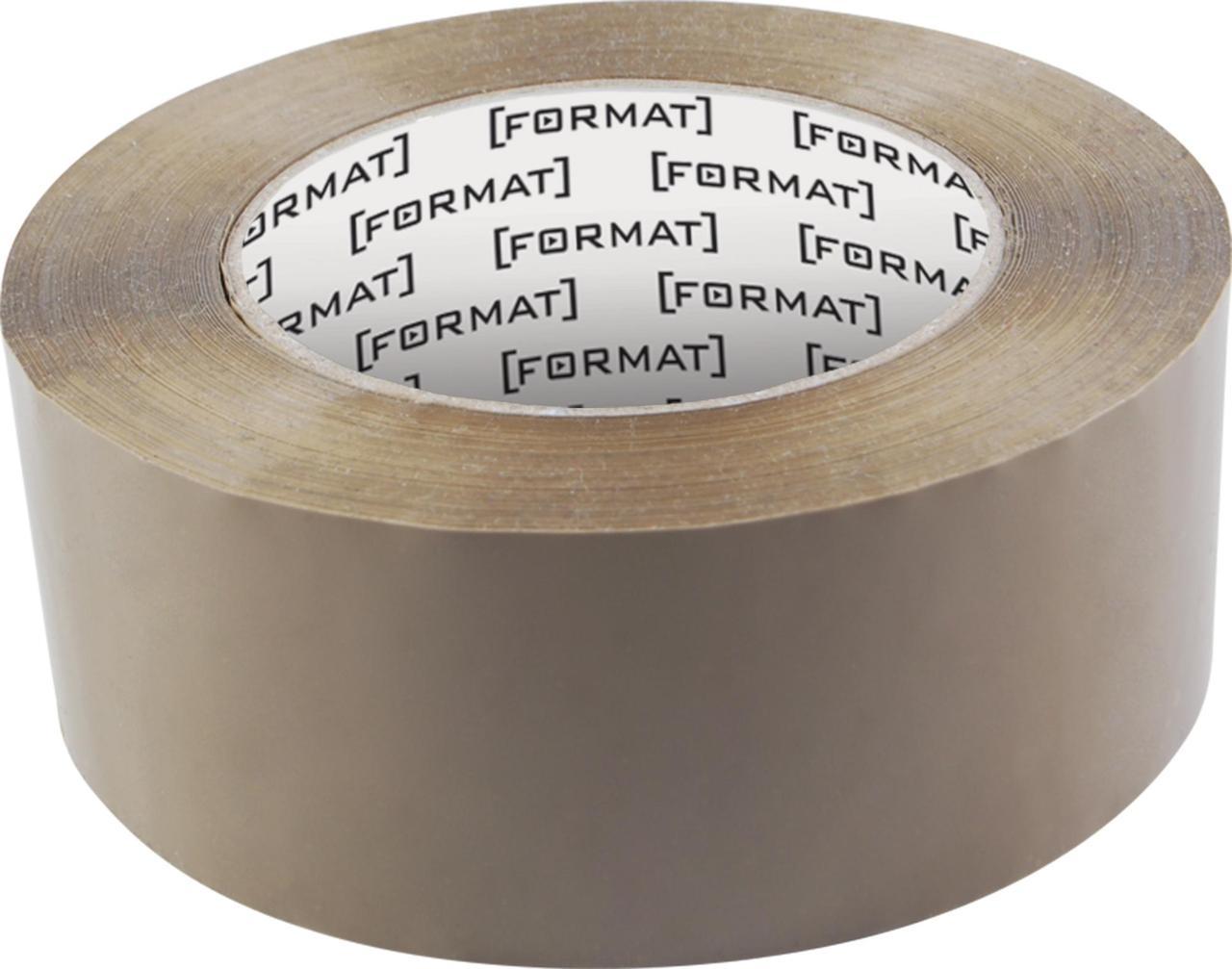 Лента клейкая упаковочная 45 мм х 66 коричневая