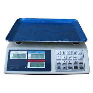 Весы торговые электронные ВІТЕК до 50 кг  Metall Button