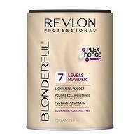Многофункциональная безаммиачная осветляющая пудра (уровень 7) REVLON Blonderful 7 Lightening Powder 750 гр