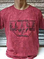 Мужская футболка PREMIUM BLACK DENIM  Турция р. M, L, XL, XXL.