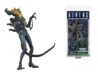Фигурка Чужой поврежденный в бою (Aliens Xenomorph Warrior Battle Damaged)