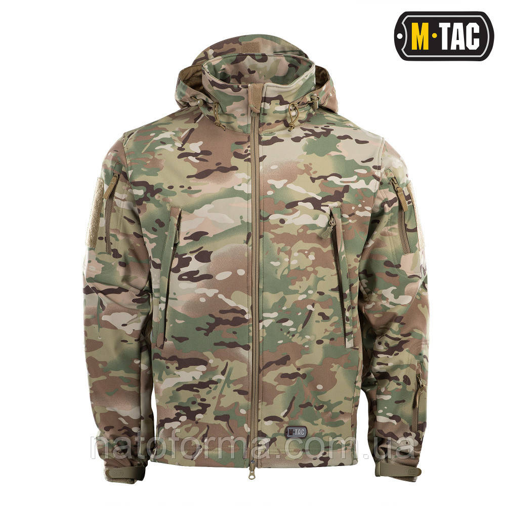 Куртка M-Tac SOFT SHELL Multicam
