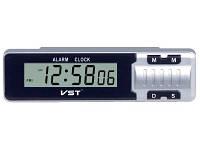 Часы в авто с 2мя датчиками температуры VST опт