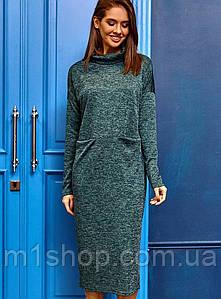 Женское ангоровое платье-миди (Эрика kr)
