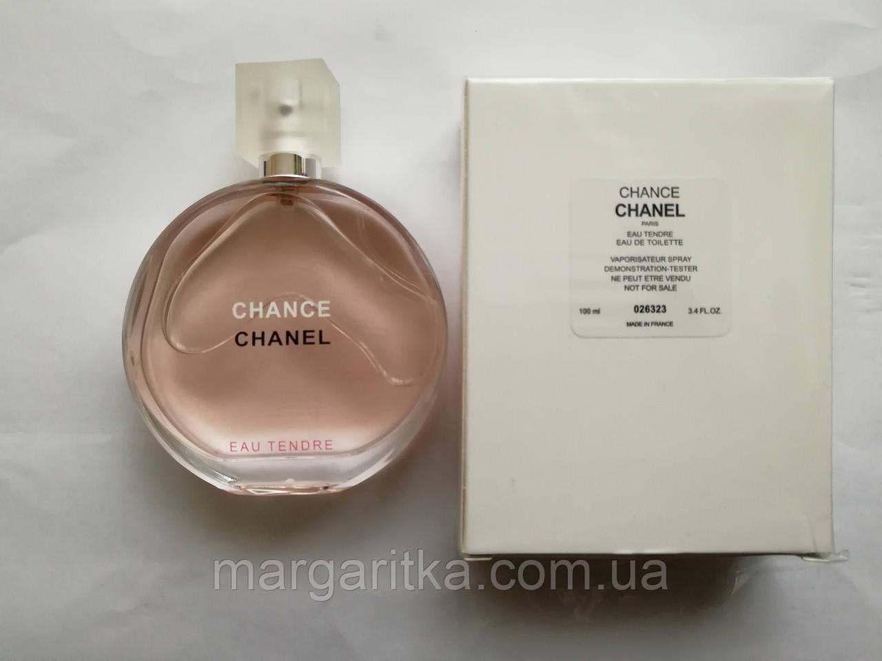 Парфюмированная вода Chanel Chance Eau Tendre Тестер(копия) качества ЛЮКС