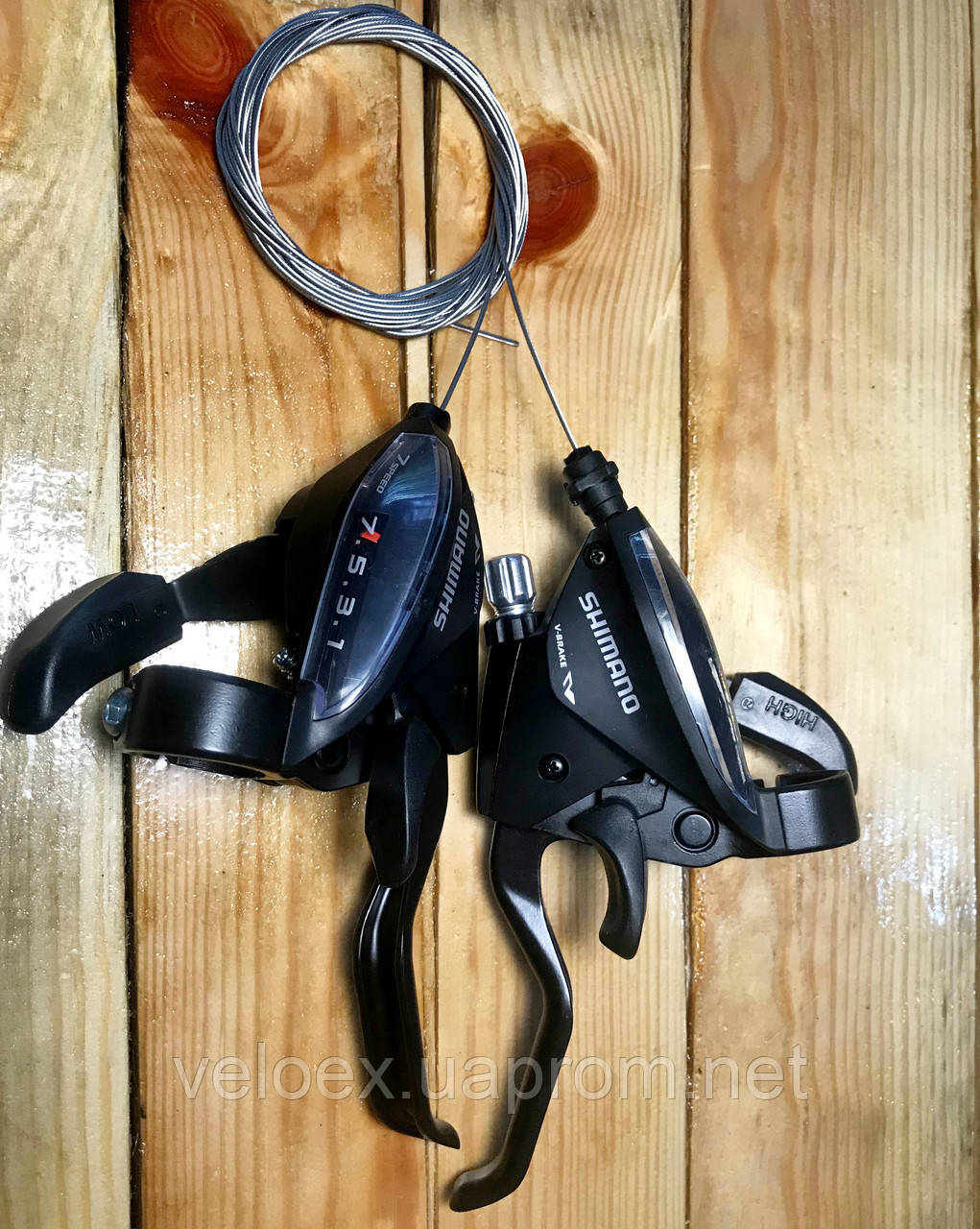 Тормозная ручка / манетка Shimano Tourney ST-EF510 3x7