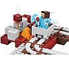 """Конструктор Minecraft """"Подземная железная дорога"""" Lepin 18024 343 деталей, фото 2"""