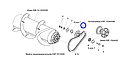 Звездочка натяжная привода шнека жатки, фото 3