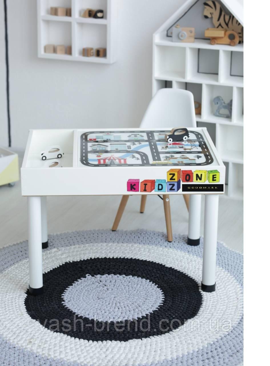 Детский игровой столик (регулируемые ножки) KIDZ ZONE