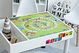 Детский игровой столик (регулируемые ножки) KIDZ ZONE, фото 2