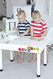 Детский игровой столик (регулируемые ножки) KIDZ ZONE, фото 4