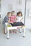 Детский игровой столик (регулируемые ножки) KIDZ ZONE, фото 5