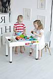 Детский игровой столик (регулируемые ножки) KIDZ ZONE, фото 9