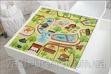 Съемное игровое поле для столика-песочницы KIDZ ZONE Зоопарк