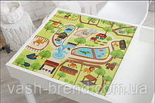 Знімне ігрове поле для столика-пісочниці KIDZ ZONE Зоопарк