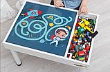 Знімне ігрове поле для столика-пісочниці KIDZ ZONE Космос, фото 3