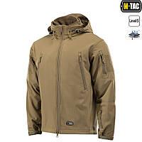 Куртка зимняя, M-Tac SOFT SHELL с подстежкой, Tan, фото 1