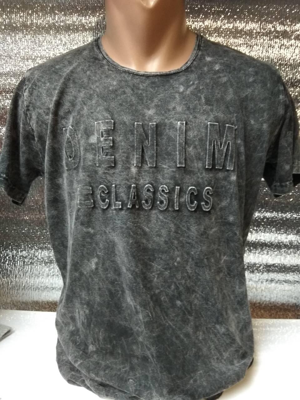 Мужская футболка DENIM CLASSICS Турция р. M, L, XL, XXL.