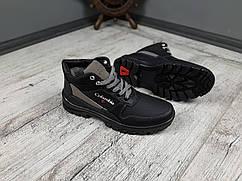 Ботинки мужские зимние Paolla, обувь теплая, повседневная, Микс цветов