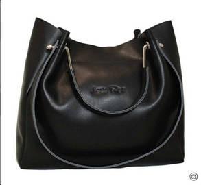 8f04fbc096fa Красивая и комфортная сумка из натуральной черной кожи: продажа ...