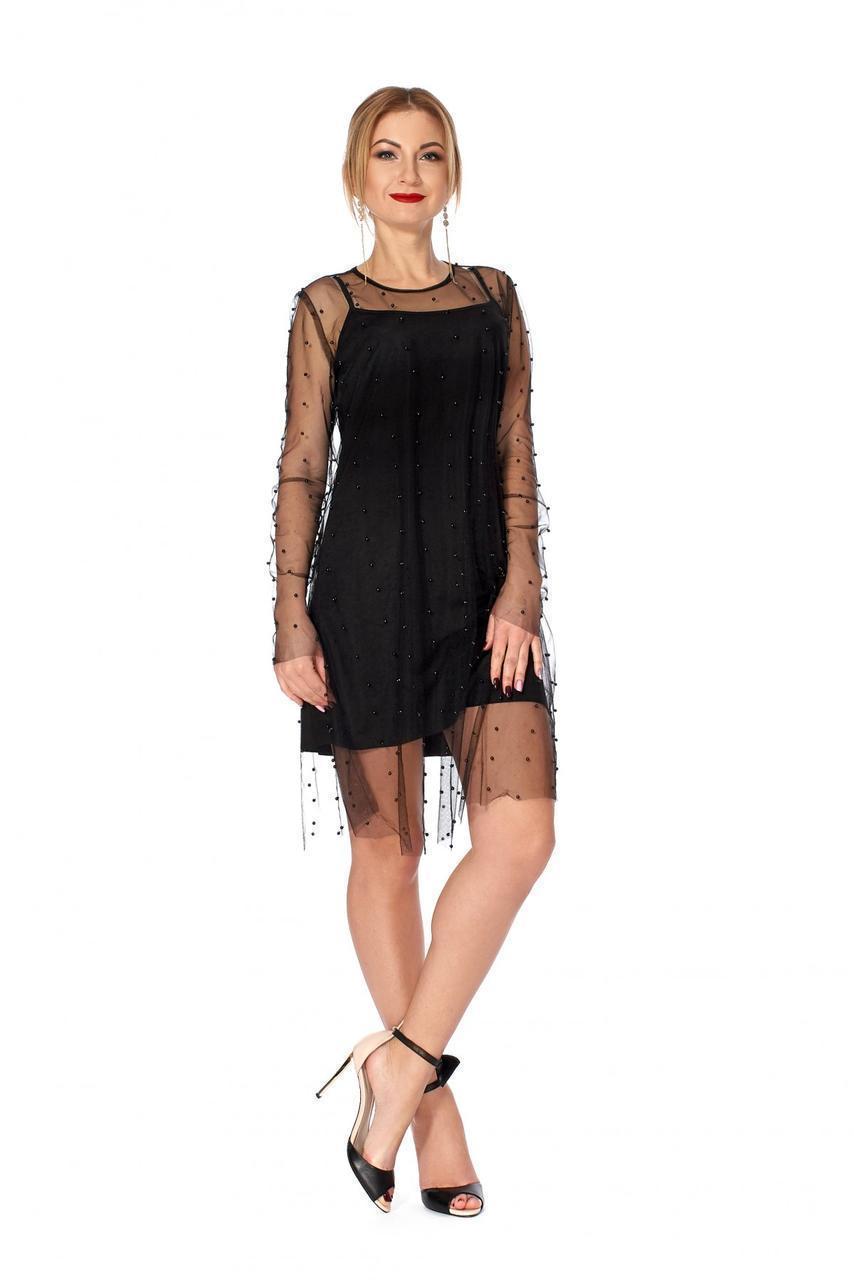 Сукня 1124 чорного кольору