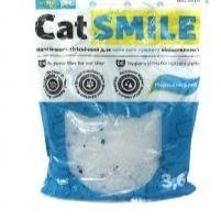 Наповнювач Cat Smile Sea breeze Кет Смайл сілікагелевой з ароматом Морського бризу 3.6л (1,8кг)