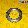 Гайка круглая шлицевая по ГОСТ 11871-88, DIN 981. М56х2