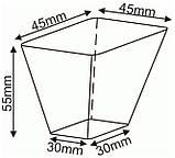 Кассеты для рассады на 54 ячейки по 76 мл. (DP45/54), фото 4