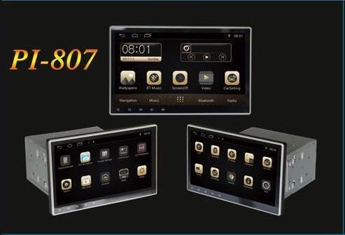 "МагнитолаPioneer Pi-807 10"" Экран, 4 Ядра, 1Gb Ram,Android 2Din"