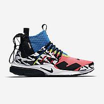 "Кроссовки Nike Air Presto Mid Acronym Racer ""Pink"" (Розовые), фото 2"