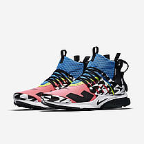 "Кроссовки Nike Air Presto Mid Acronym Racer ""Pink"" (Розовые), фото 3"
