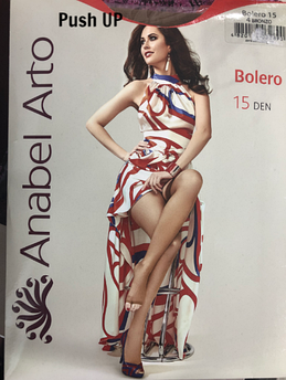 Колготки женские Anabel Arto Bolero 15 den, размер 2