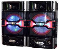 Активная акустическая система колонки Ailiang USBFM-7011-DT, 150W с подсветкой