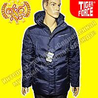 Стильная мужская куртка Tiger Force 259 Blue Gray