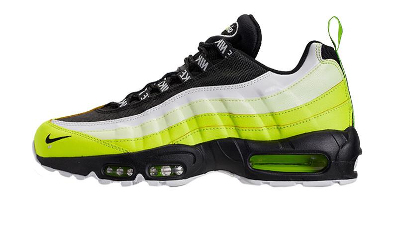 f38eb1ac Оригинальные кроссовки Nike Air Max 95 Premium Black/Yellow/White (ART.  9538416