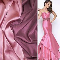 Атлас стрейч хамелеон розово-фиолетовый ш.150 (10117.022)