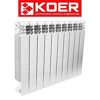 Биметаллический радиатор отопления Koer 500/100 (1 секция)