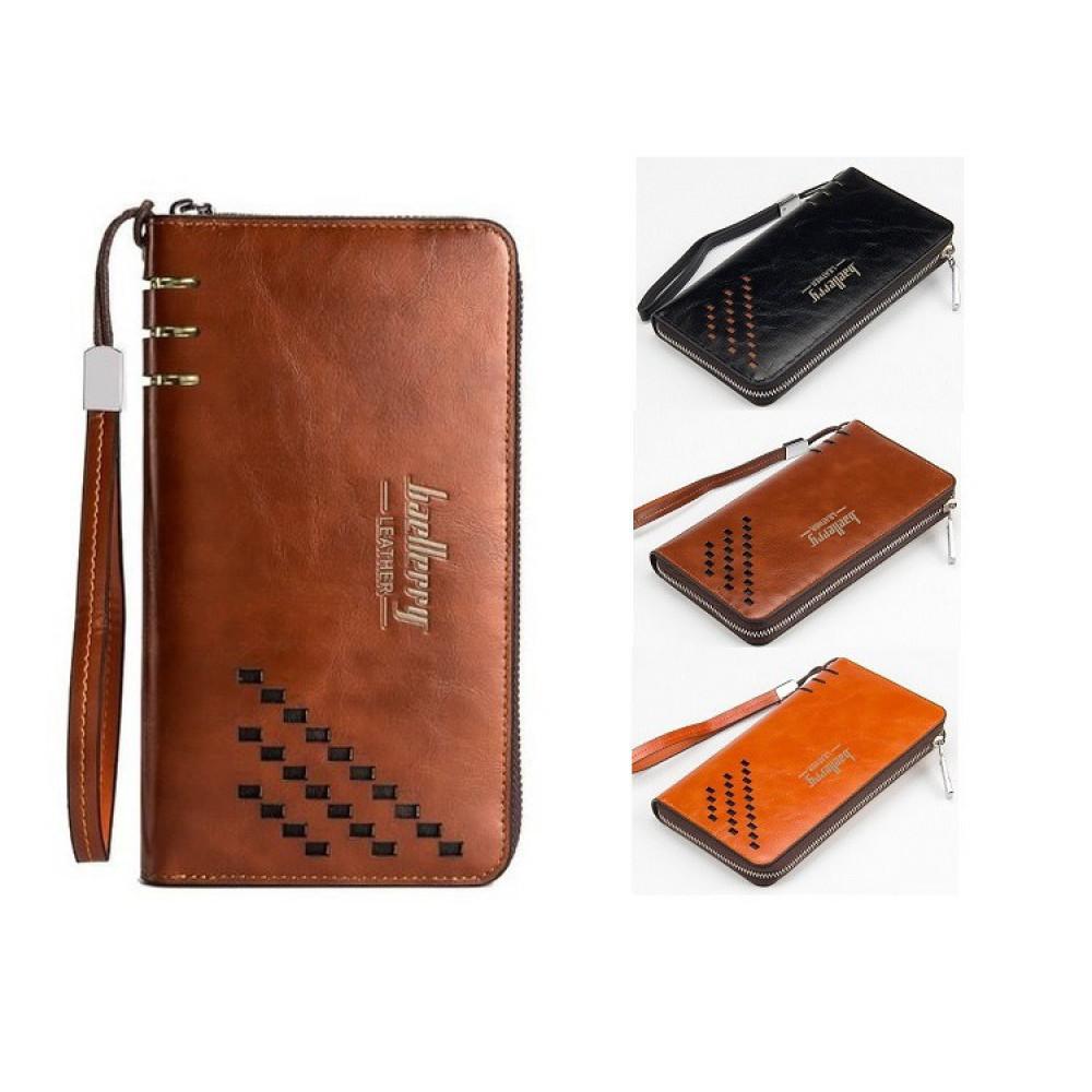 fc2d83a01b3c Мужской клатч, портмоне, кошелек Baellerry Leather (Лизер), цена 200 ...