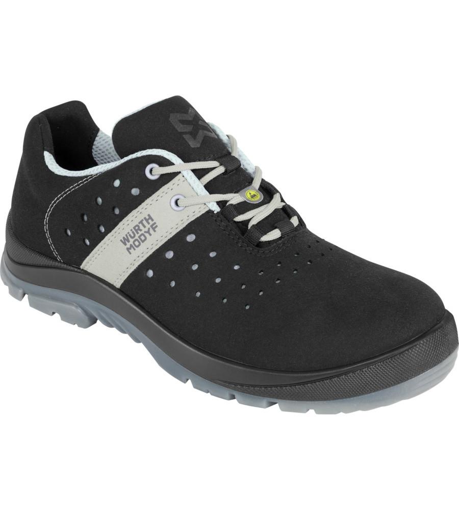 Летний дышащий ботинок S1P ESD SRC SPORT CRUX BLACK Wurth