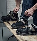 Летний дышащий ботинок S1P ESD SRC SPORT CRUX BLACK Wurth, фото 5
