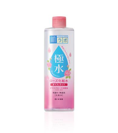 Лосьон для лица с минералами и  розовой водой HADA LABO Kiwamizu Rose Lotion 400ml