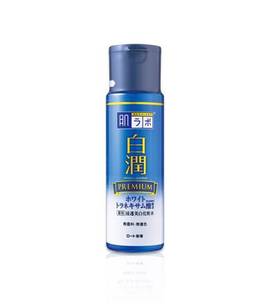 Премиум отбеливающий лосьон с транексамовой кислотой Hada Labo Shirojyun Premium Medicated Whitening Lotion