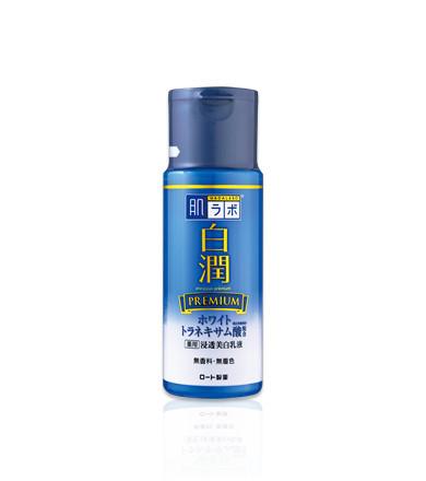 Премиум молочко с транексамовой кислотой Hada Labo Shirojyun Premium Medicated Whitening Milk 140ml